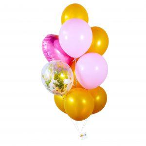 Helium Balloon - Bling Bling Balloon Bouquet