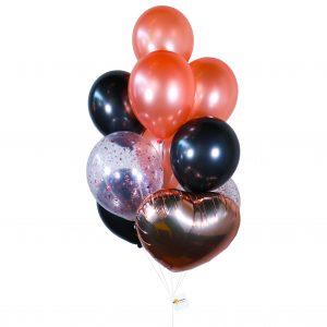 Helium Balloon - Black Gold