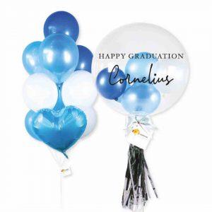 Helium Balloon Combo 2 - Blue Themes