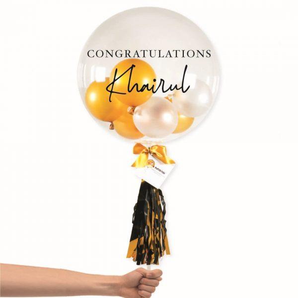 Congratulation Bubble Balloon