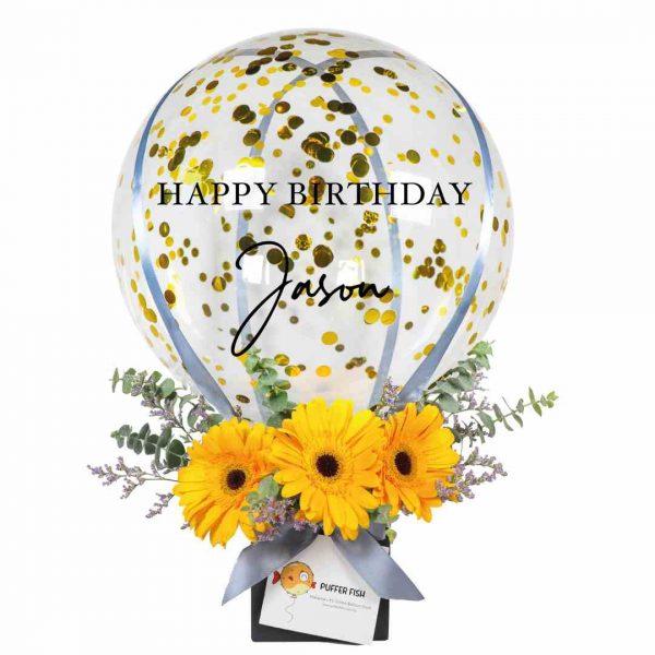 Happy Birthday Hot Air Balloon