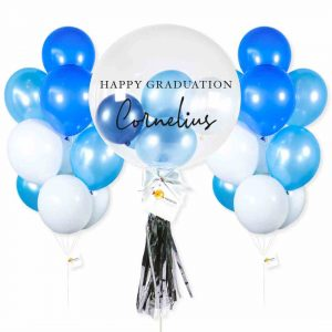 Helium Balloon Combo 3 - Blue Themes