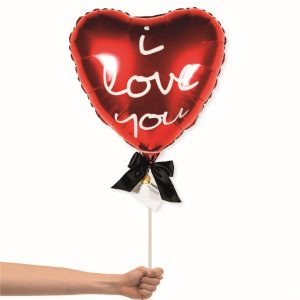 I love you red balloon